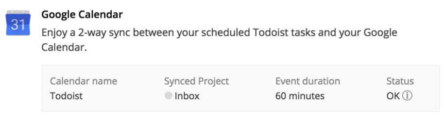 How can I use Todoist with Google Calendar? – Todoist Help