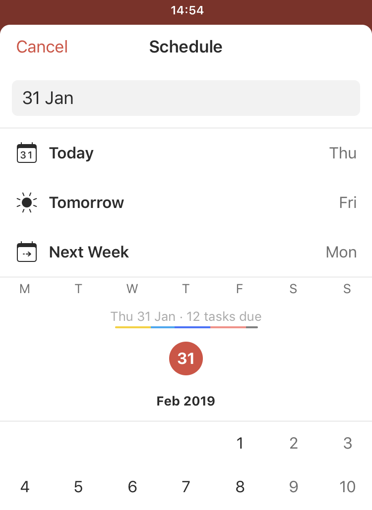 Due Dates & Times – Todoist Help
