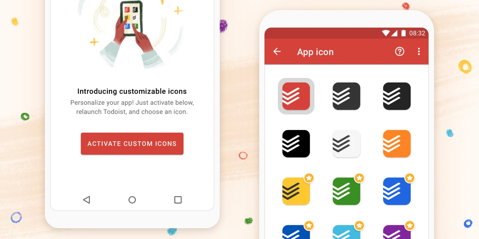 Personalize your app with customizable mobile icons!