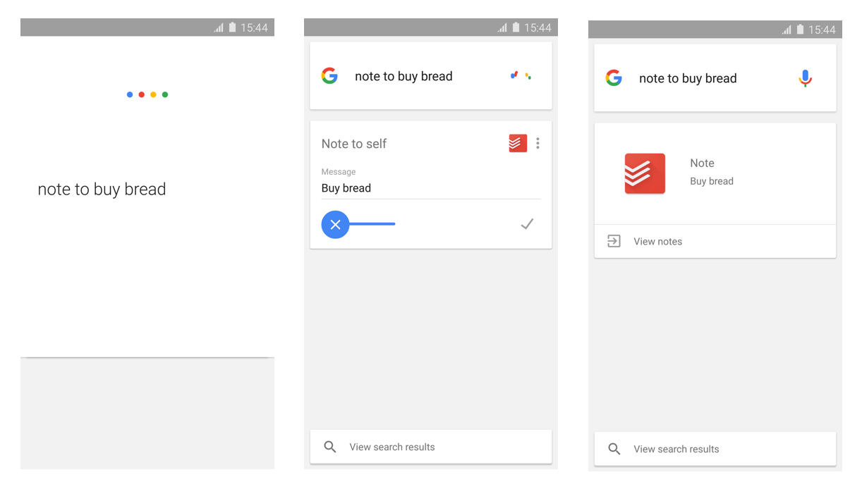 Google Now + Todoist
